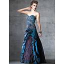 A-line Strapless Floor-length Evening Dress / Prom Dress (HSX244) (Start From 3 Units) Free Shipping