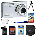 Ricoh Caplio R50 10.0MP Digital Camera + 2GB SD Card + Extra Battery + 6 Bonus