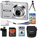 Olympus FE-320 8.0MP Digital Camera + 1GB xD Card + Extra Battery + 6 Bonus