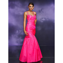 Trumpet Straps Floor-length Taffeta Prom / Evening Dress (HSX320) (Start From 3 Units) Free Shipping