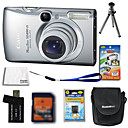 Canon IXUS 970 / PowerShot sd890 ist 10.1MP Digital Camera + 2GB SD Card + Akku + 6 Bonus