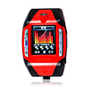 F3 Tri-band (GSM 850/1800/1900) Watch Style Cell Phone Red-black