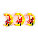 3x Santa on Moon Christmas Light (SDQ379)