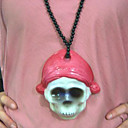 Halloween Decoration LED Halloween Skull Neck Pendant (SZWS192)