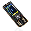COOLHB718 Media Cell Phone with FM Function Black  (Not For U.S/Canada)