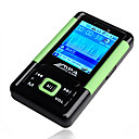 2gb de 1,8 polegadas super slim mp3 / mp4 players verde (szm036)