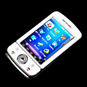 ZTC A560 Dual Card Touch Screen FM Cell Phone White (SZR343)