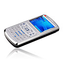 DUBAO N868 Dual Card Tri-Band Windows Mobile Phone Silver & Black