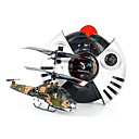 RC Radio Remote Control 3 CH Indoor Mini Apache Helicopter w/ LED Lights