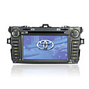 Da 7 pollici touch screen 2 DIN auto in-dash dvd player per toyota corolla con funzione GPS (szc595)