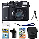 Canon PowerShot G10 14.7MP Digital Camera with 3.0-inch LCD + 8GB SD + Battery + 6 Bonus (SZW672)