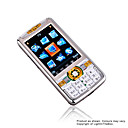 DAXIAN X8800  Dual Card Tri-Band Touch Screen  Phone Silver&Black(SZR417)