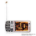 B7000 Dual Card Quad Band TV Cell Phone Light Gold (SZR368)