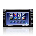 7-inch Touch Screen 2 Din In-Dash Car DVD Player TV and Bluetooth Function 6002
