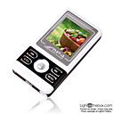 2gb de 1,5 polegadas MP3 / MP4 com FM preto (szm095)