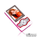 2gb de 1,8 polegadas MP3 / MP4 players com funo fm vermelho (szm103)