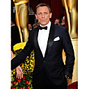 der 81. Oscar Daniel Craig einen Knopf am Revers Schal Smoking Anzug / Jacke und Hose (oscm006)