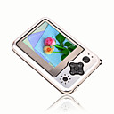 4gb 2.4-pulgadas MP3 / MP4 Players con cmara digital de plata (szm169)