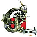 Freeshipping Tattoo Machine Gun 10 Wrap Coils New Pro Tuned (FD006)