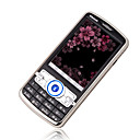 Long Ke S600 Quad Band Dual Card  Function Cell Phone Black&Silver