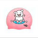 Brand New SPURT Pink Children Kids Silicone Swim Swimming Caps (KYF028)-(Start From 10 Units)