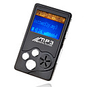 4gb mini mp3 players com alto-falante preto (szm209)