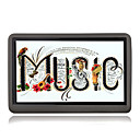 8GB 4.3-inch Touch Screen MP3 / MP5 Players With FM Function Black(SZM202)