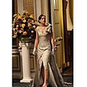 Blair Sheath/Column V-neck Floor-length Prom/Gossip Girl Fashion Dress Season 1 (FSH0049)