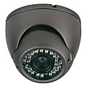 1/3-inch Sony CCD Vandal Dome IR Wired Camera + Varifocal Manual Iris Lens