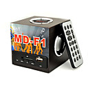 Multi-Media Digital Speaker With Remote Support SD Card USB Disk Wood Black (MD-F1)