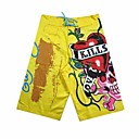 la mode de haute qualit jaune plage pants pantalons pour hommes 018 (fc018)