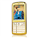 xuntai i628 dual card bluetooth touch screen musica cella d'oro telefono (szhx0106)