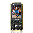 N99 Quad-Band Dual Card Dual Bluetooth Dual Camera Touch Screen TV Cell Phone Black