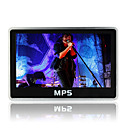 8gb 4.3 polegadas calendário fm mp5/mp3 player (szm535)