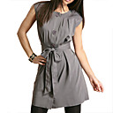 Tie Front Button Through Dress (09VQX027)