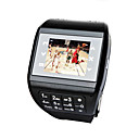 EG200 Touch Quad Band Single Card Watch Mobile Phone With Keypad Black (2GB TF Card) Original Price $135.99