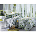 4-pc floral cabeza de agua de algodn de tamao completo duvet cover set - envo (9s200019s)