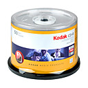 50 Kodak 52x Write-Once CD-R Blank Media (SMQ2706)