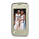 N97 style DualCard Dual Standby Bluetooth High Definition Camera Black