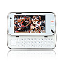 n97c quad estilo de banda bluetooth doble tarjeta de contacto de doble cmara de TV de pantalla blanco (tarjeta de 2gb tf) precio original $ 143.99