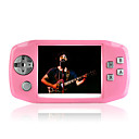 4gb gioco da 3,5 pollici multi-media player mp5/mp3 fotocamera digitale rosa (szm647)