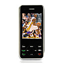 baizhao L9 tri band dual card dual bluetooth touch screen del telefono cellulare slide nero (szhx0264)