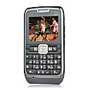 E71i style Quad Band Dual Card Bluetooth Touch Screen FM Cell Phone Black (2GB TF Card)