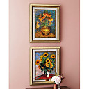 "2-pc Handmade Oil Painting Sunflower 20""x24""(YCF-MP001)"