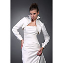Long Sleeves Satin Bridal Jacket / Wedding Wrap