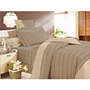 4-pc Colorful Stripe Full Size Duvet Cover Set - Free Shipping (0586-6940118564275)