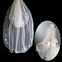 2 Layers Elbow Length Wedding Veil (TS020)