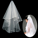 1 Layer Fingertip Length Wedding Veil (TS030)