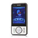 S101 Dual Card Shuttle Compass Navigation Flat Touch Screen Cell Phone Black (2GB TF Card)