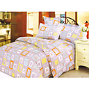 4-pc Colorful Window Full Size Duvet Cover Set - Free Shipping (0586-6940118564343)